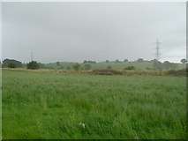 NS5061 : Pylons and the Oldbar hills by Stephen Sweeney