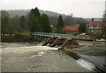 SU5980 : Weir (Southerly), Goring On Thames by Kurt C