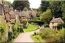 SP1106 : Cottages by Arlington Row in Bibury by Steve Daniels
