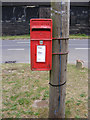 TM4170 : High Street Postbox by Adrian Cable