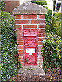 TM4167 : Victorian Postbox YHR Nursery, Middleton by Geographer