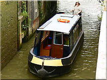 ST8260 : Canal boat on the way up the Kennet and Avon canal (2) by Brian Robert Marshall