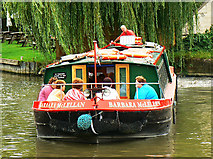 ST8260 : Canal boat on the way down the Kennet and Avon canal (3) by Brian Robert Marshall