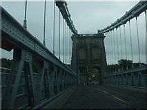 SH5571 : Menai Suspension Bridge by Richard Hoare