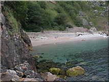 SX9364 : Redgate Beach, Torquay by Roger Cornfoot