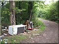 TL4208 : Fly tipping on Old House Lane by Stephen Craven