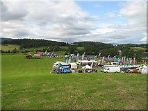 NO0051 : Assembly area, Scottish Six Days 2009 Day 6 by Richard Webb