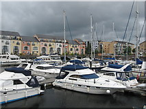 ST1872 : Penarth marina by Gareth James