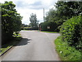 SO5790 : Phone box in the centre of Stanton Long by Basher Eyre