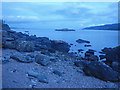 NR8671 : Dusk at South Bay on the Barmore Island shore by C Michael Hogan