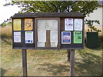 TM4160 : Friston Village Notice Board by Geographer