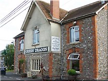 ST3011 : The Green Dragon, Combe St Nicholas by Maigheach-gheal