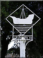 TM4770 : Dunwich Village Sign by Adrian Cable