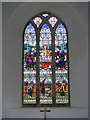 TM3959 : The Window of St.John the Baptist Church, Snape by Adrian Cable