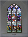 TM3959 : The Window of St.John the Baptist Church, Snape by Geographer