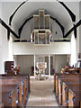 TM3959 : The Organ & Font of St.John the Baptist Church, Snape by Adrian Cable