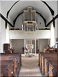 TM3959 : The Organ & Font of St.John the Baptist Church, Snape by Geographer