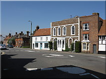 SP7006 : Bell Lane Mini-Roundabouts, Thame by Peter Whatley