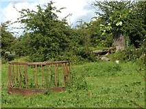 NS3976 : Remains of quarry's washing plant by Lairich Rig