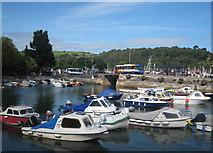 SX8751 : Dartmouth harbour by Rod Allday