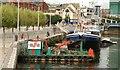 "J3474 : The ""Port Constructor"" on the Lagan, Belfast by Albert Bridge"
