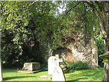 TQ3975 : Tower of the old St Margaret's (2) by Stephen Craven