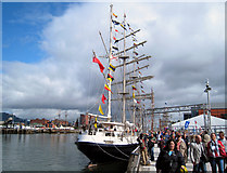 J3474 : Tall Ships Belfast 2009 by Rossographer