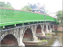 SK7954 : Trent Bridge, Newark by Colin Smith
