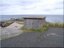 NB5534 : Seisadar harbour - top of slipway by Nicholas Mutton