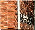 J3472 : Street sign, Belfast by Albert Bridge