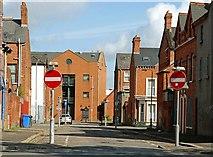 J3472 : Dudley Street, Belfast by Albert Bridge