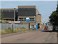 TQ4880 : Entrance to Crossness sewage works by Stephen Craven