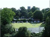 TM2863 : Framlingham Bowls Club by Stuart Shepherd