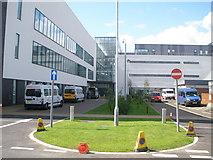 NS6168 : New section of Stobhill Hospital by John Ferguson