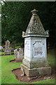 NS3408 : A Covenanter's grave at Kirkmichael Parish Churchyard by Walter Baxter