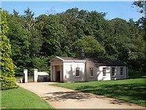 SU5598 : The Lodge at Nuneham Courtenay Arboretum by Keith Salvesen
