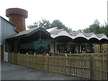 SJ6903 : Steam engine at Blists Hill Open Air Museum by Basher Eyre
