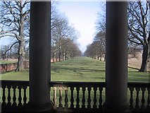 NZ1758 : Gibside: the Avenue viewed from the Chapel by Keith Salvesen