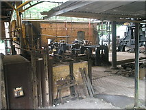 SJ6903 : Machinery within the ironworks at Blist Hill Open Air Museum by Basher Eyre