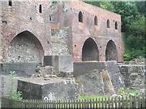 SJ6903 : The original blast furnaces at Blist Hill Open Air Museum by Basher Eyre