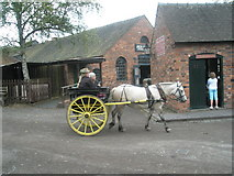 SJ6903 : Going for a ride at Blists Hill Open Air Museum (1) by Basher Eyre