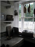 SJ6903 : Inside the butchers at Blists Hill Open Air Museum (1) by Basher Eyre