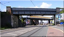 SO9297 : Wolverhampton Bridges by Gordon Griffiths
