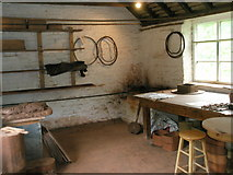 SJ6902 : Inside the saggar makers workshop at the Coalport Museums by Basher Eyre