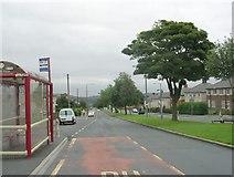 SE0726 : Ovenden Way - viewed from Nursery Lane by Betty Longbottom