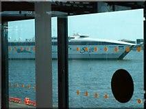 O2034 : Jonathan Swift approaching her berth at Dublin Port by Eric Jones