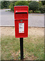 TM2952 : School Lane  Postbox by Adrian Cable