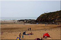 SS2006 : Summerleaze Beach and pool at Bude by Steve Daniels