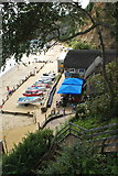SZ5881 : The Fisherman's Cottage, Shanklin Chine by Peter Trimming