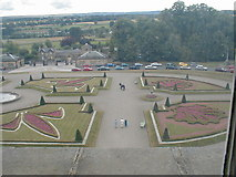 NZ0516 : Gardens at the Bowes Museum, Barnard Castle by Gordon Elliott